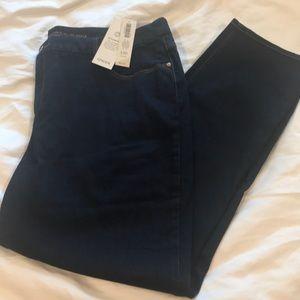 NWT Chico's slim leg dark wash ankle jeans